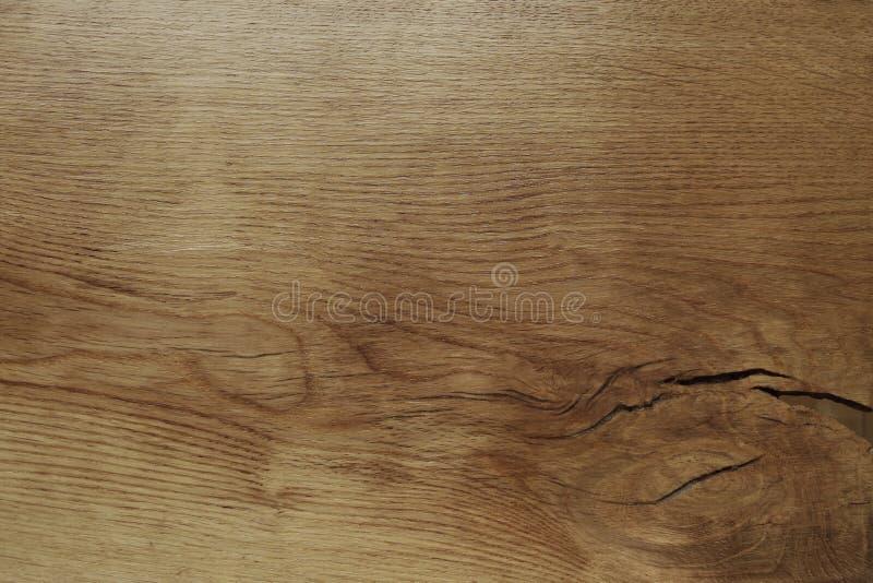De houten eiken hoogste mening van de lijstoppervlakte royalty-vrije stock afbeeldingen