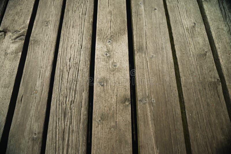 De houten pijlerplanken sluiten omhoog royalty-vrije stock fotografie