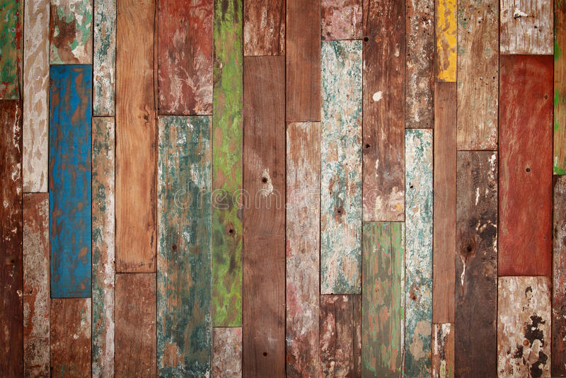 De houten textuur van Grunge stock foto