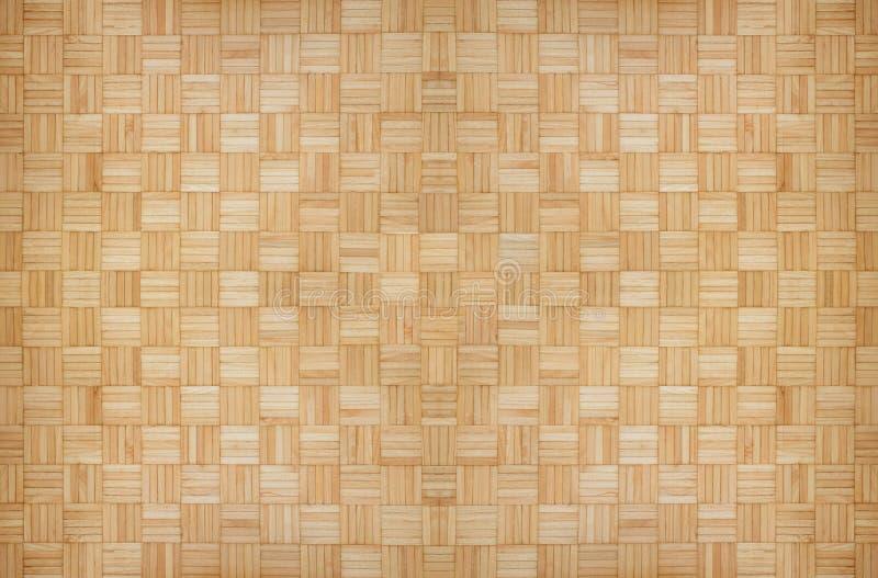 De houten vierkante achtergrond van het textuurpatroon royalty-vrije stock afbeelding