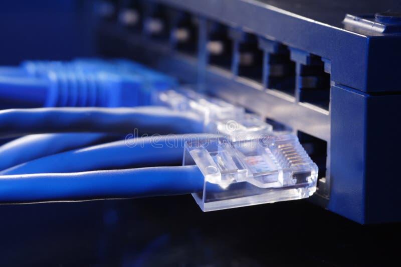 De hub van het netwerk stock foto's