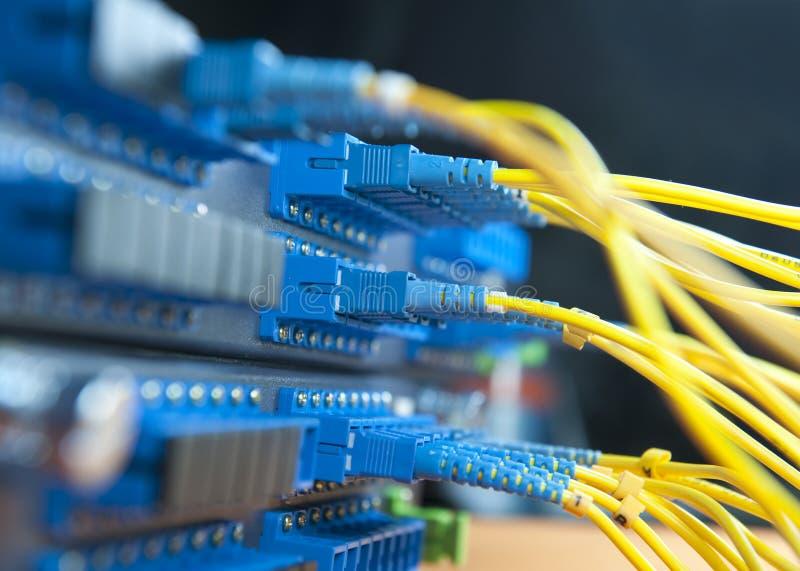 De hub van het netwerk royalty-vrije stock foto