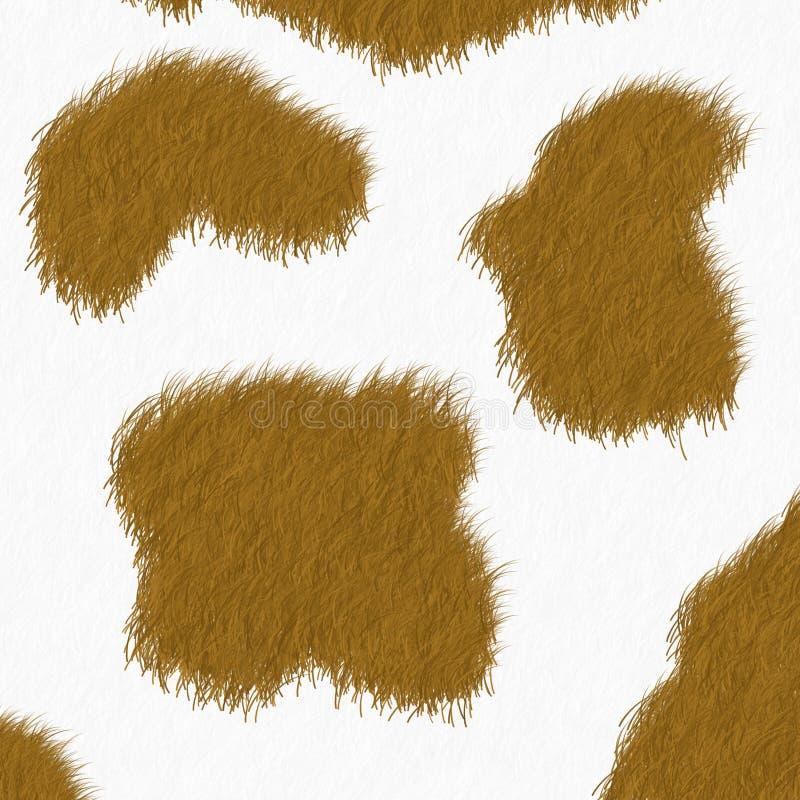 De huidachtergrond van de koe royalty-vrije stock fotografie