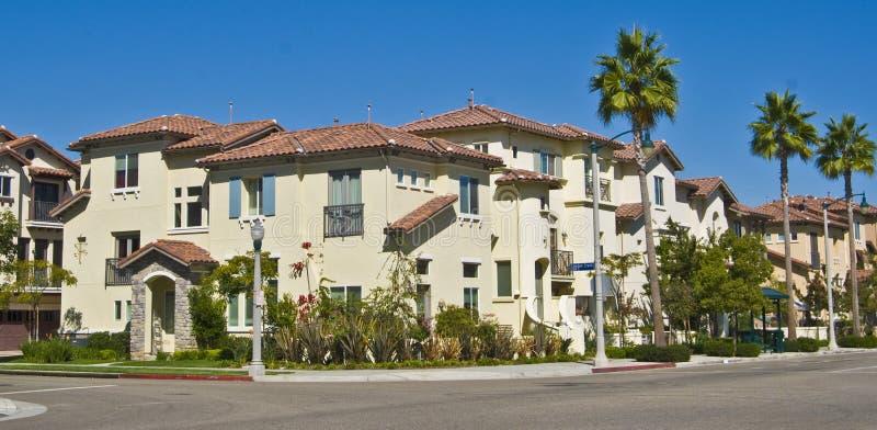 De huisvesting van Californië stock foto