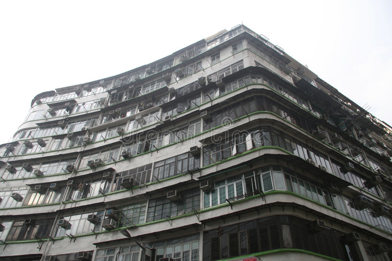 De huisvesting van Hongkong royalty-vrije stock afbeelding