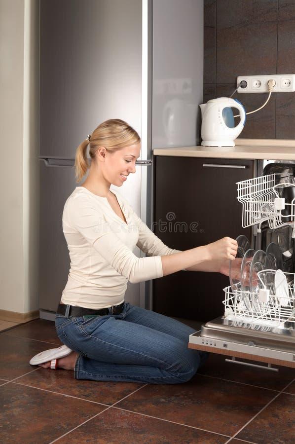 De huisvrouw stock foto's