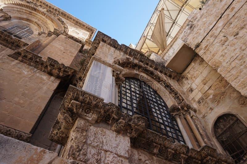 De huizen in de oude stad van Jeruzalem hebben hun verschijning royalty-vrije stock foto's