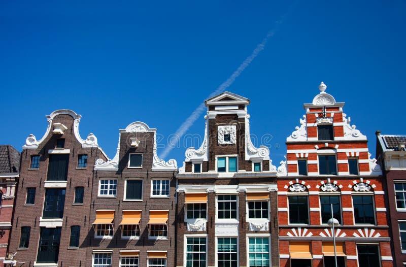 De Huizen van Amsterdam stock fotografie