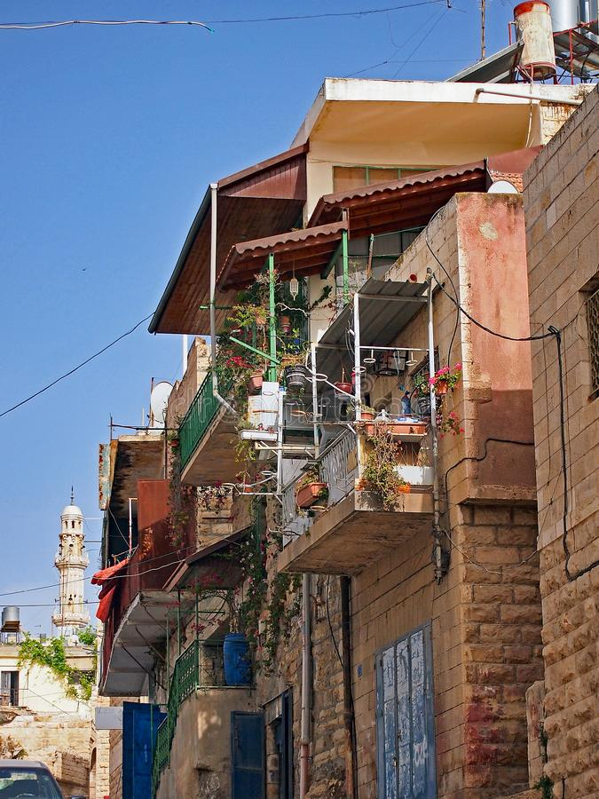 De Huizen van Cisjordanië, Bethlehem royalty-vrije stock afbeeldingen