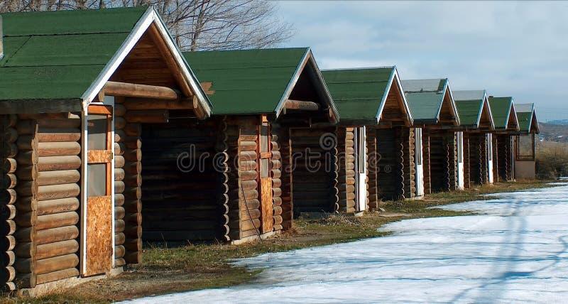 De Huizen Van De Oogst Stock Afbeeldingen