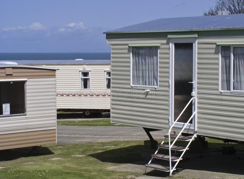De huizen van de vakantie stock afbeelding