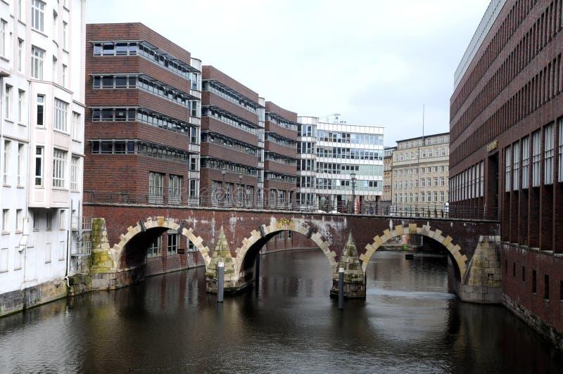 Download De Huizen Van Het Kanaal In Hamburg Stock Afbeelding - Afbeelding bestaande uit europa, brug: 29507407
