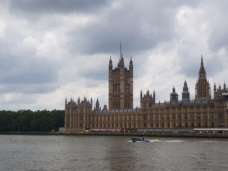 De Huizen van het Parlement Londen royalty-vrije stock foto