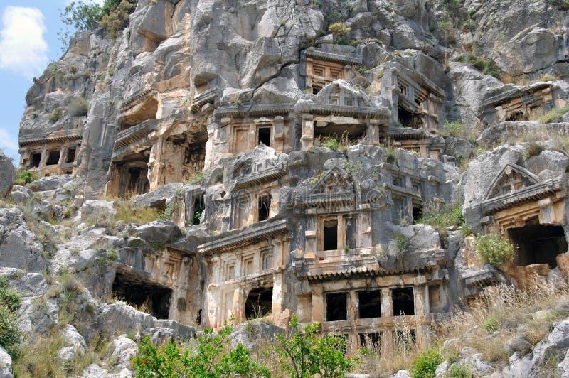 De huizen van Likian royalty-vrije stock afbeeldingen