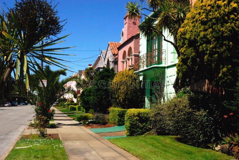 De Huizen van San Francisco royalty-vrije stock foto's