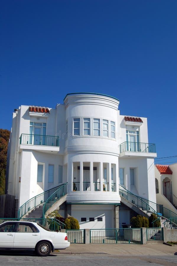De Huizen van San Francisco royalty-vrije stock afbeelding