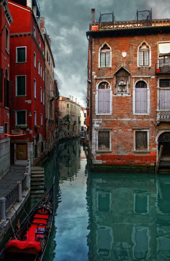 De huizen van Venetië stock foto's