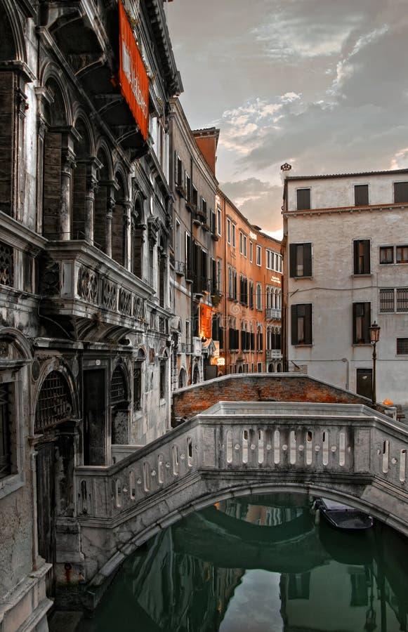 De huizen van Venetië royalty-vrije stock afbeeldingen