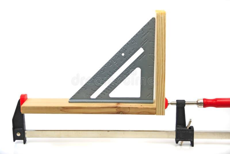 De Hulpmiddelen van de houtbewerking stock afbeelding