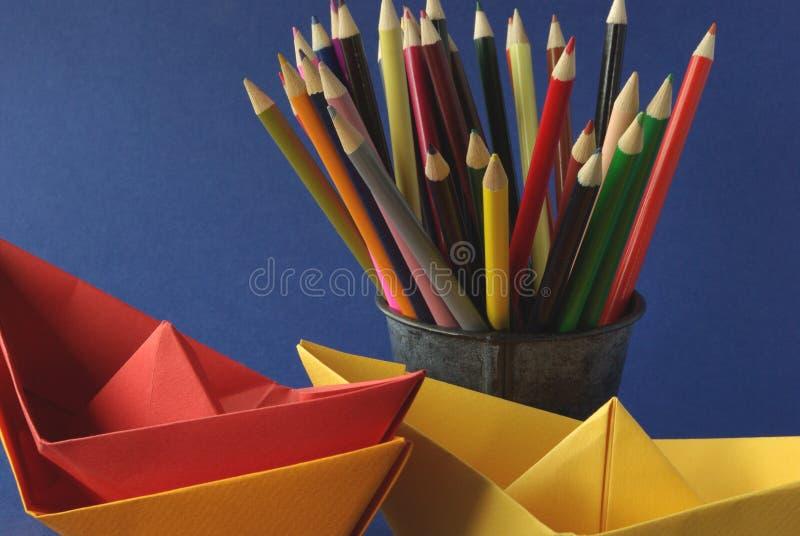 De hulpmiddelen van de tekening stock foto's