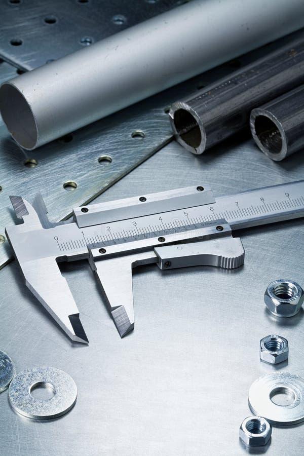 De hulpmiddelen van het metaal stock fotografie