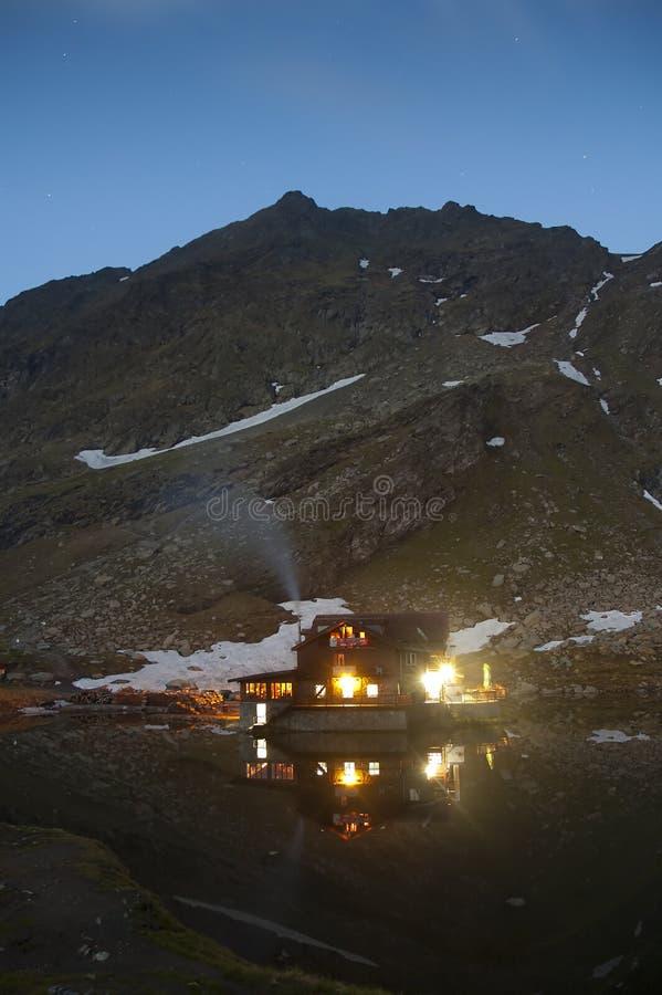 De Hut Van Balea Royalty-vrije Stock Afbeelding
