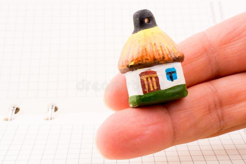De hut van de handholding royalty-vrije stock foto