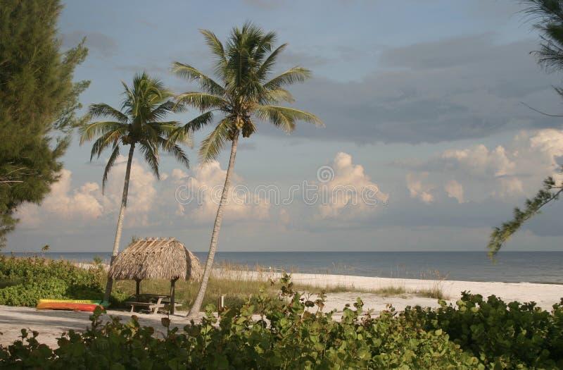 De Hut van het Strand van Sanibel royalty-vrije stock afbeeldingen