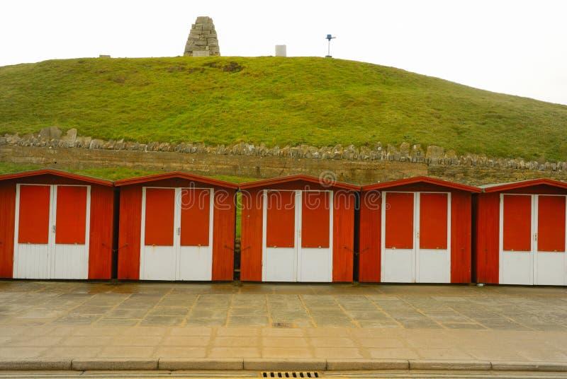 De Hut van het Strand van Swanage royalty-vrije stock afbeelding