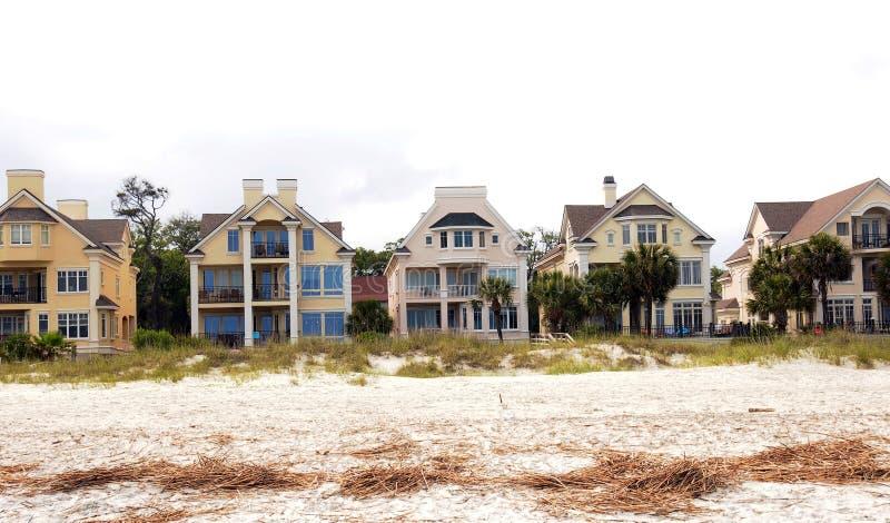 De huur op het strand stock afbeeldingen