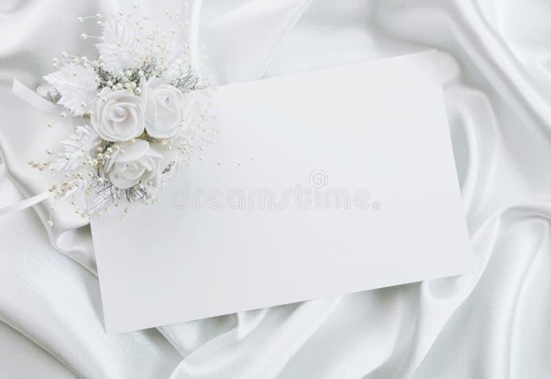 De huwelijksuitnodiging royalty-vrije stock fotografie