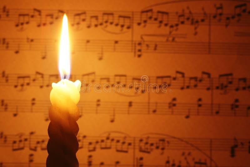 De hymne van Kerstmis royalty-vrije stock afbeeldingen