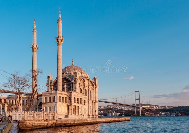 De Iconische Mening van Istanboel stock foto's