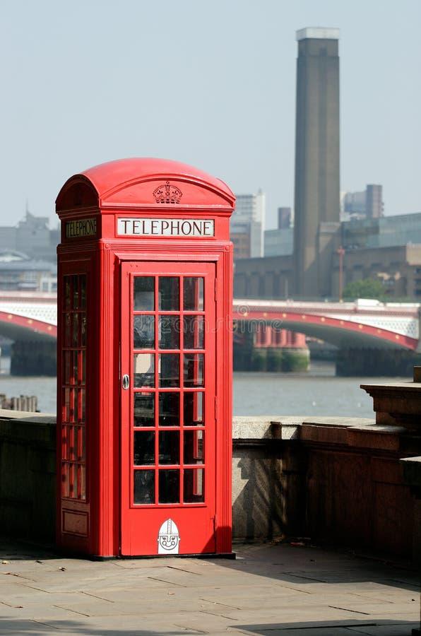 De Iconische Telefooncel van Londen royalty-vrije stock afbeelding