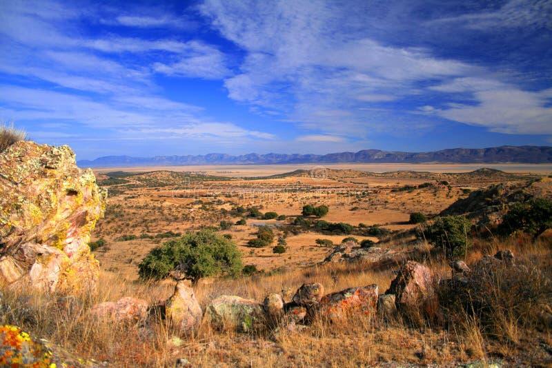 De ideale woestijn van Nuevo stock afbeeldingen