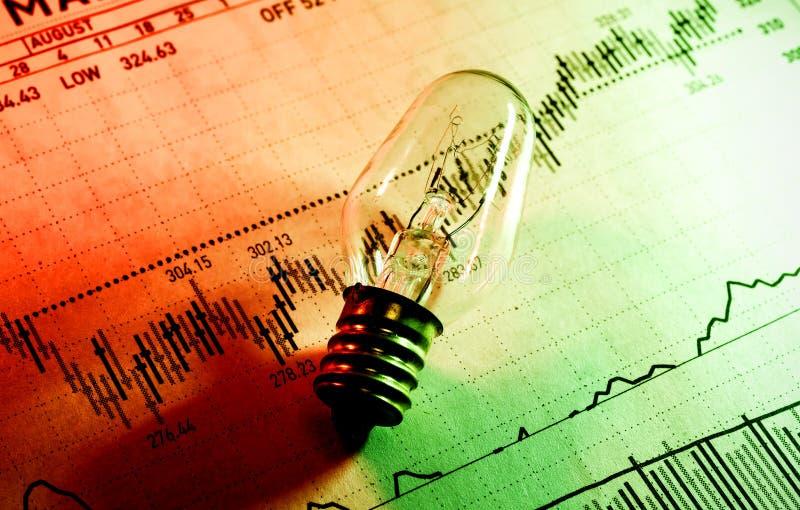 De Ideeën van de investering stock afbeelding