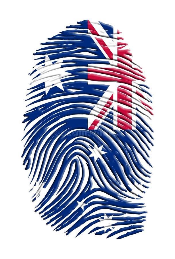 De Identiteit van Australië stock illustratie