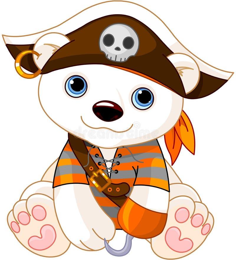 De Ijsbeer van Halloween royalty-vrije illustratie