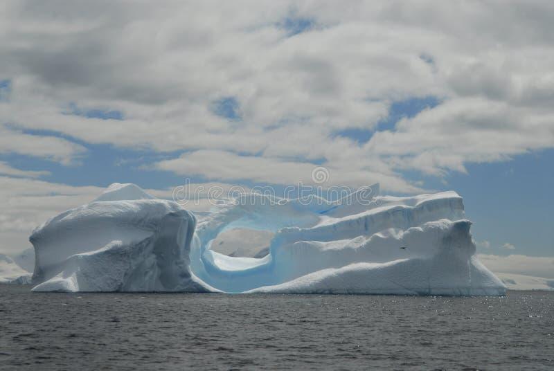 De Ijsberg van Antarctica royalty-vrije stock afbeelding
