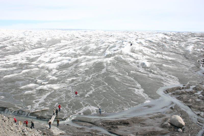 De Ijskap van Groenland royalty-vrije stock afbeelding