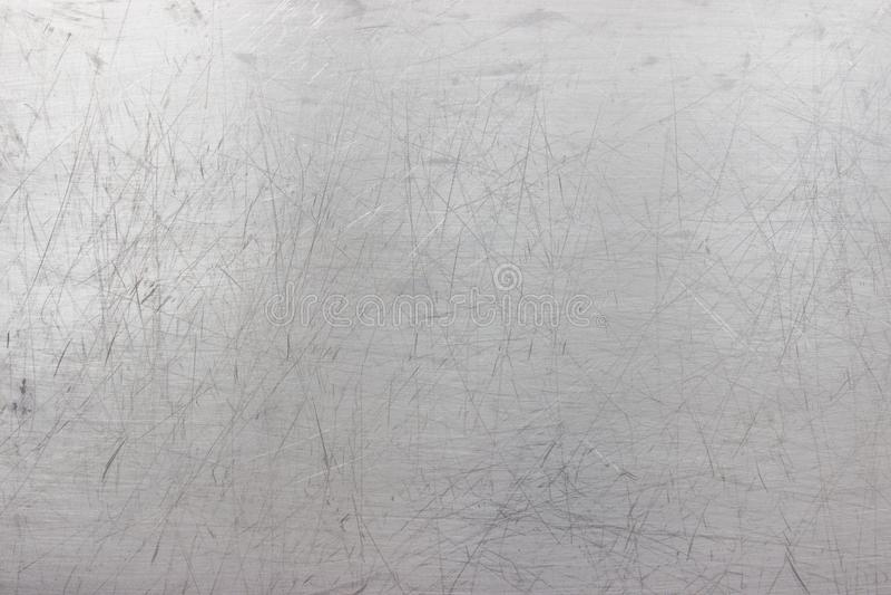 De ijzertextuur, vormt de metaalplaat met geschaafd stock fotografie