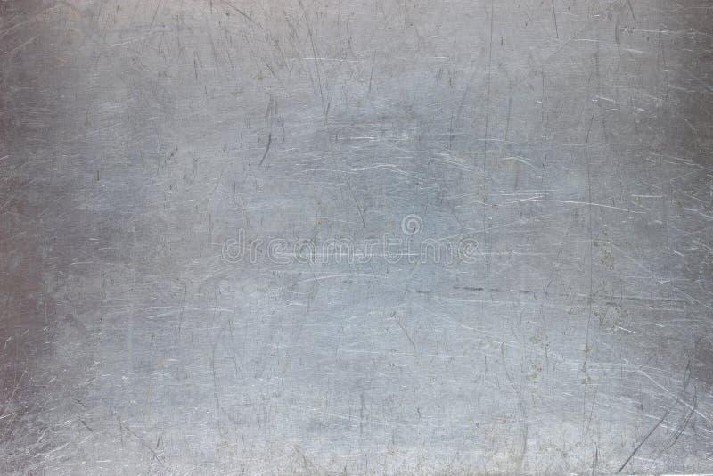 De ijzertextuur, vormt de metaalplaat met geschaafd royalty-vrije stock afbeelding
