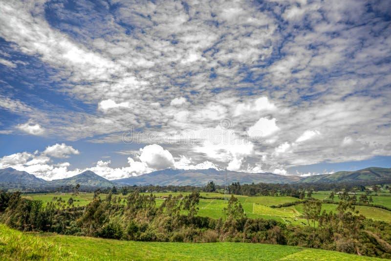De Illinizas-vulkaan royalty-vrije stock foto