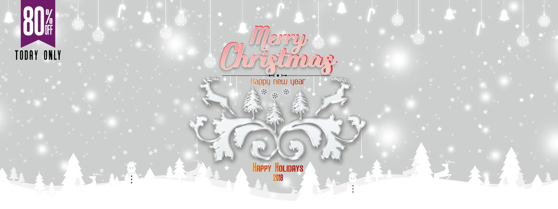 De illustratie ontwerpt van Kerstmis en Nieuwjaar op glanzende Kerstmisachtergrond met de winterlandschap met sneeuwvlokken, lich vector illustratie