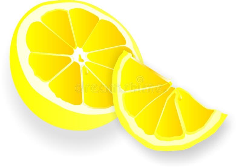 De illustratie van citroenen vector illustratie
