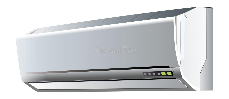 De illustratie van de airconditioning stock illustratie