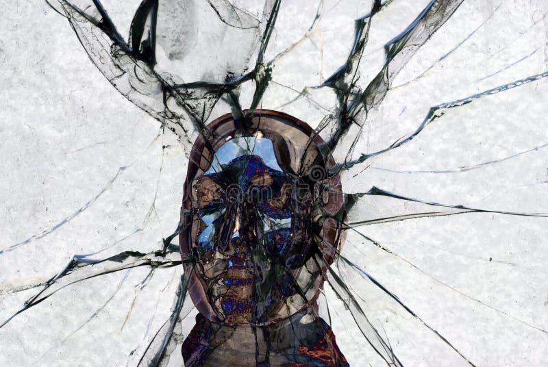 De illustratie van de hoofdpijn royalty-vrije illustratie