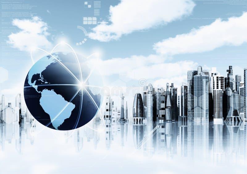 De Illustratie van de Informatietechnologie stock foto's