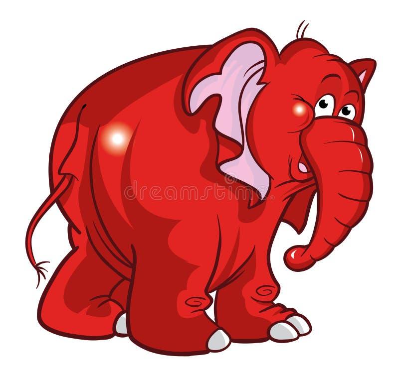 De illustratie van de olifant royalty-vrije illustratie