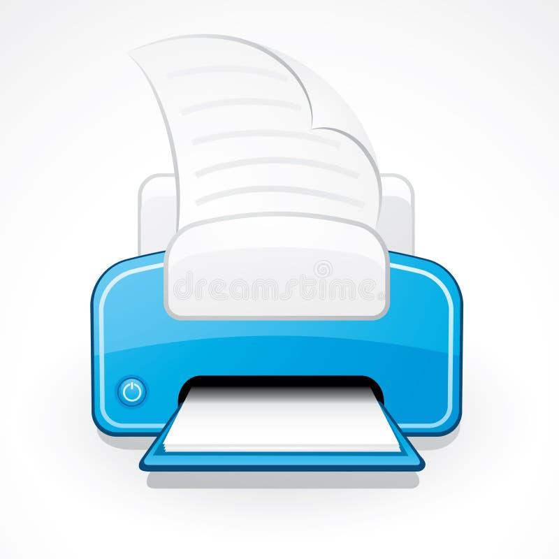 De illustratie van de printer